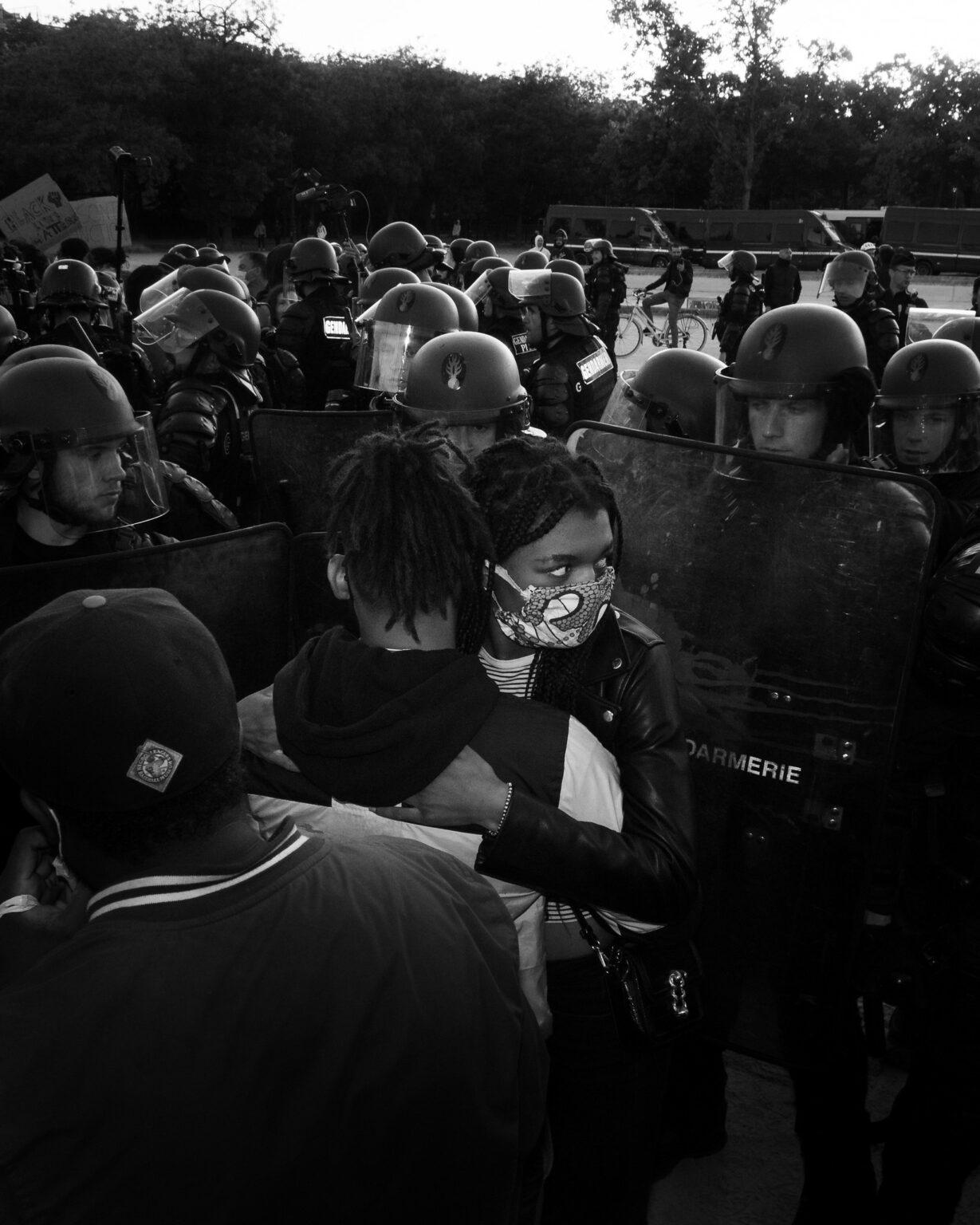 Protest Embrace - Louis Mack (Paris, France / June 2020)
