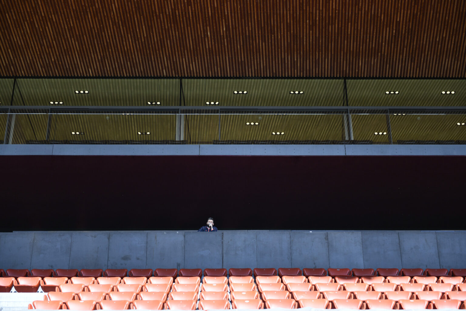 Stadium announcer in times of Covid 19